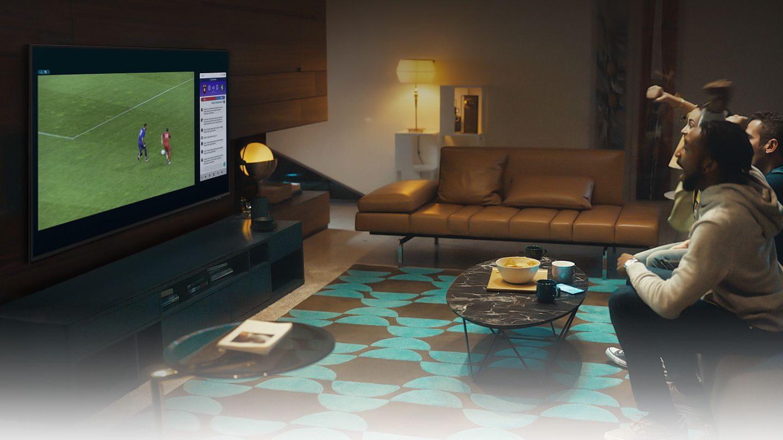 samsung tv televízió edge led 2021 4K multi view