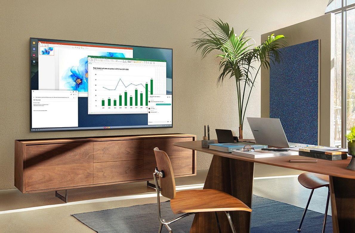 samsung tv televízió qled 2021 4K smart home office oktatás vezeték nélküli kapcsolat