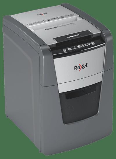 Rexel Optimum AutoFeed+ 100X uničevalec dokumentov, P4, 4x28