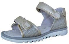 Protetika dekliški sandali Lulu, 27, zlati