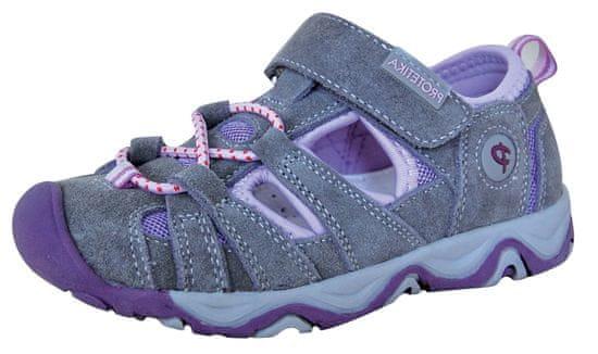 Protetika dekliški sandali Dafy lila