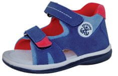 Protetika fantovski sandali Albero, 21, modri