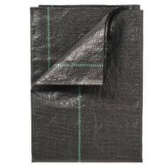 shumee Agrotekstil za zatiranje plevela Nature, 2 x 10 m, črn