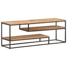 shumee TV stolek 130 x 30 x 45 cm masivní akáciové dřevo
