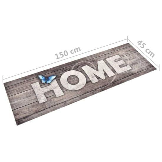 """shumee """"Home"""" feliratú, mosható konyhai szőnyeg 45 x 150 cm"""