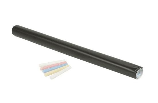 Samoljepljiva ploča i 5 kreda, 200 x 45 cm