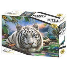 Howard Robinson sestavljanka Beli tiger, 500/1, 50 x 70 cm