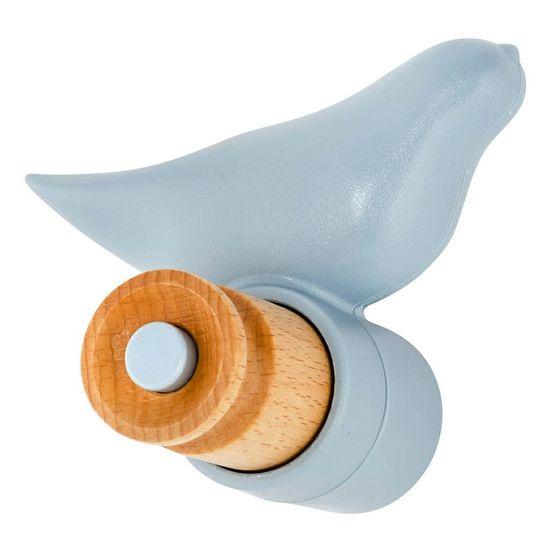 shumee BIRD modri obešalnik za plašče