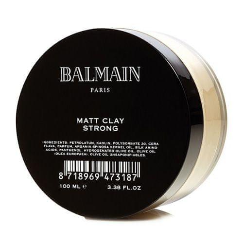 Balmain glina za lase, Matt Clay Strong, 100 ml