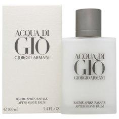 Giorgio Armani borotválkozás utáni balzsam férfiaknak, Acqua Di Gio férfiaknak, 100 ml