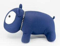 QUENTIN relaxační polštář pes, modrá