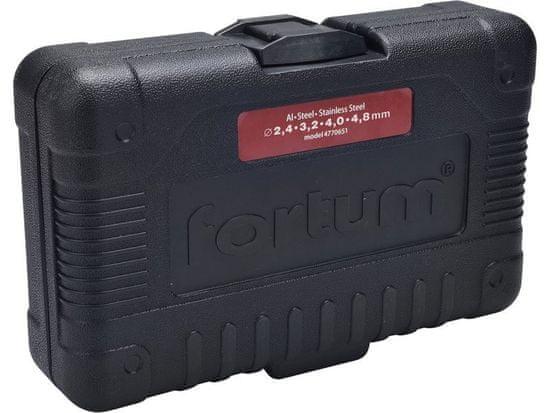 Fortum Nadstavec na nitovanie trhacích nitov 2,4-6,4mm, pre akumulátorovú skrutkovačku