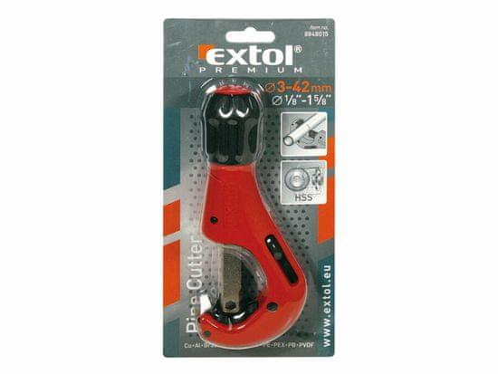 Extol Premium Rezač rúrok 3-42mm s odhrotovačom
