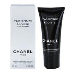 Chanel borotválkozás utáni balzsam, Égoiste Platinum, 75 ml