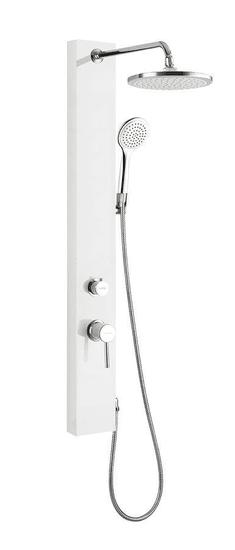 AQUALINE Figa sprchový stĺp s batériou, 1050 mm, pvc (SL230)
