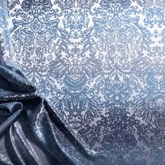 Naturaland Svilena prevleka za vzglavnik/OCEAN - Žakard svila / 31 momme (mm), na gumbe, 40x60