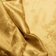 Naturaland Svilena prevleka za vzglavnik/ADA GOLD - Žakard svila / 31 momme (mm), na gumbe, 60x80