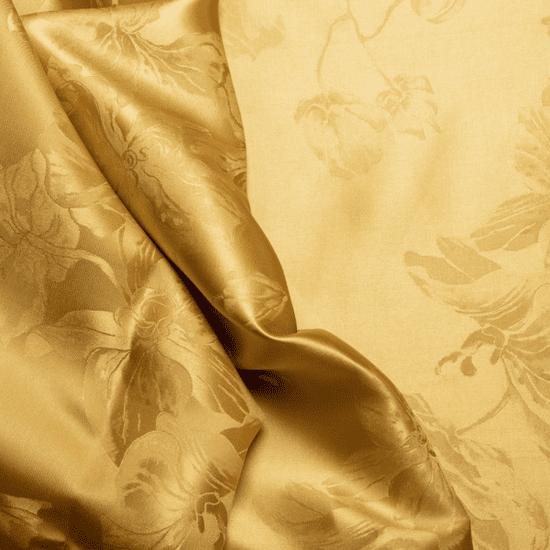 Naturaland Svilena prevleka za vzglavnik/ADA GOLD - Žakard svila / 31 momme (mm)