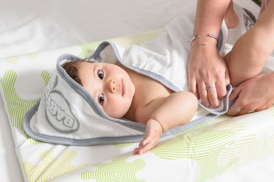 BabyDam CozyToze - ręcznik z kapturem