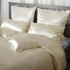 Naturaland Velika Svilena posteljnina NATUR - Saten svila / 26 momme (mm), na gumbe, 200x220