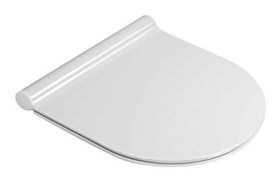 GSI CERAMICA Kube x, norm wc sedátko soft close slim, duroplast, biela (MS76SN11)