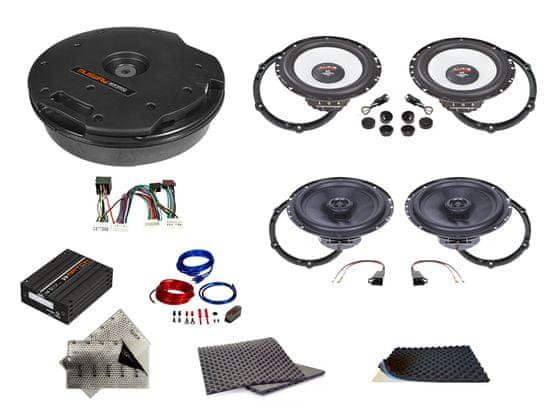 Audio-system SET - kompletní ozvučení Bestaudio Premium do Peugeot 4008 (2012-2018)