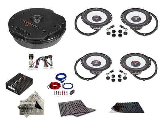 Audio-system SET - kompletní ozvučení Bestaudio Premium do Peugeot 508 (2010-2019)