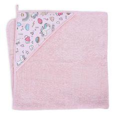 Ceba Baby ręcznik z kapturem frotte Printed Line 100 x 100 Unicorn Ceba