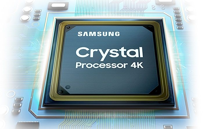 samsung tv televízor edge led 4K 2021 4K upscaling