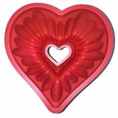 Gadgets House Silikonová forma na bábovku - srdce