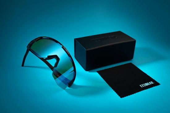 Bliz Matrix Nano Optics Black Begonia w Blue Multi NORDIC LIGHT - 52104-14N