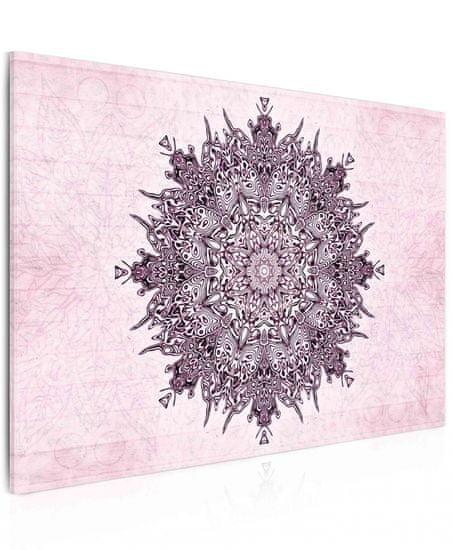 Dalenor Obraz Mandala PINK, 60x40cm
