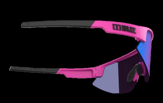 Bliz Matrix Nano Optics Matt Neon Pink Begonia w Blue Multi NORDIC LIGHT - 52104-44N