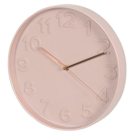 shumee Tito ružové hodiny