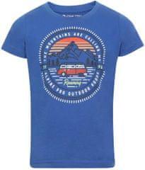 ALPINE PRO Dodgo 4 otroška majica, modra, 104–110