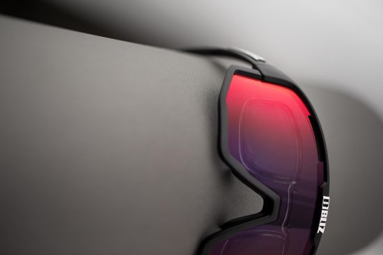 Bliz Vision Black Brown w Red Multi - 52001-14