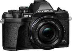Olympus E-M10 III S 14-42 EZ Pancake Kit Black fotoaparat