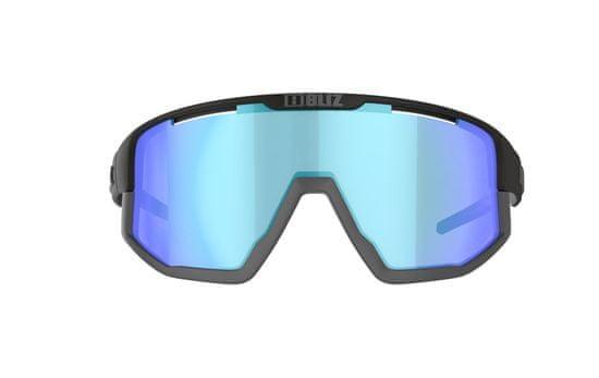 Bliz Fusion Nano Optics Black Coral w blue multi NORDIC LIGHT - 52105-13N