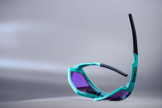 Bliz Fusion Nano Optics Matt Turquoise Begonia w Blue Multi NORDIC LIGHT - 52105-34N
