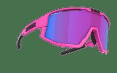 Bliz Fusion Nano Optics Matt Neon Pink Begonia w Blue Multi Nordic Light - 52105-44N sončna očala - Odprta embalaža