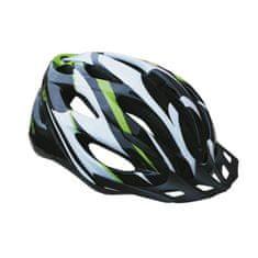 Sulov Spirit kolesarska čelada, črno-zelena, S