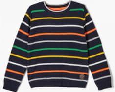 s.Oliver chlapčenský sveter 404.10.102.17.170.2058601 92/98 tmavomodrá