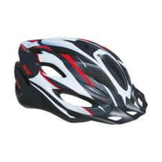 Sulov Spirit kolesarska čelada, črno-rdeča, S