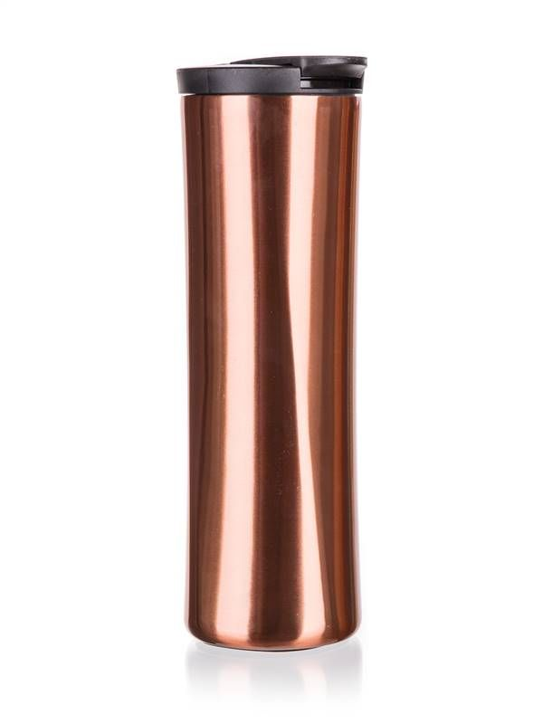 Banquet Hrnek cestovní dvoustěnný MOOS 500 ml fialová