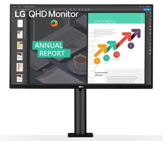 LG 27QN880-B monitor, 68.5 cm (27), QHD, IPS, USB-C, FreeSync