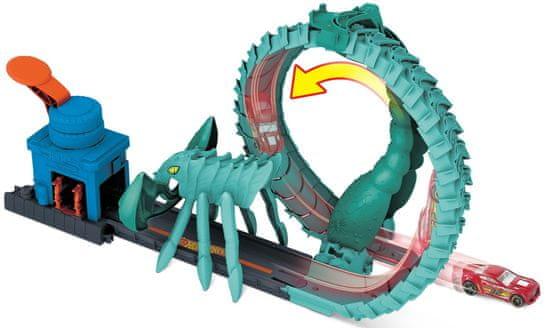 Hot Wheels City boj proti pošasti Škorpijon