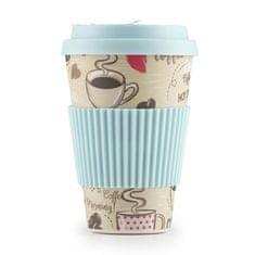 Rosmarino šalica za kavu id bambusa, 400 ml, Hot Coffe