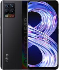 realme 8, 4GB/64GB, Cyber Black