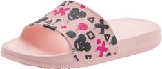 Coqui Tora Pale pink/Navy mouse dekliški natikači, 26/27, roza