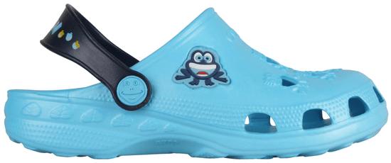 Coqui fantovski natikači Little Frog Blue/Navy